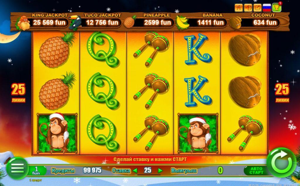 Игровой автомат Monkey Jackpot